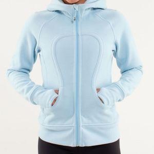 LULULEMON Blue Zip-Up Hoodie Sweatshirt